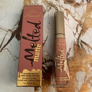 Too Faced Melted Matte Lipstick in Cool Girl NWT